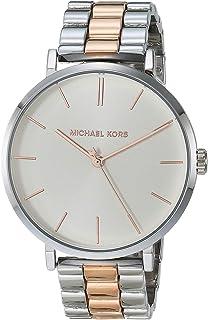Michael Kors MK7081 Jayne Reloj de aleación de tres manecillas plateadas