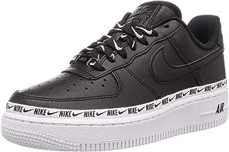 Nike Women's WMNS Air Force 1 07 SE PRM, Black/Black-White, 7.5 US