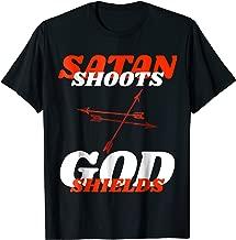 Satan Shoots, God Shields Arrows T-Shirt