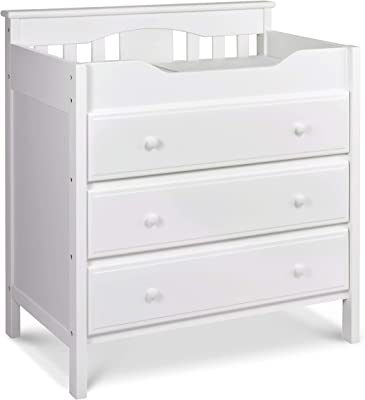 Jayden 3 Drawer Changer Dresser in White