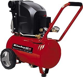 comprar comparacion Einhell TE-AC 270/24/10 - Compresor de Aire (1.8 kW, 24 L, capacidad de admisión 270 l / min, 10 bar, lubricado con aceite...