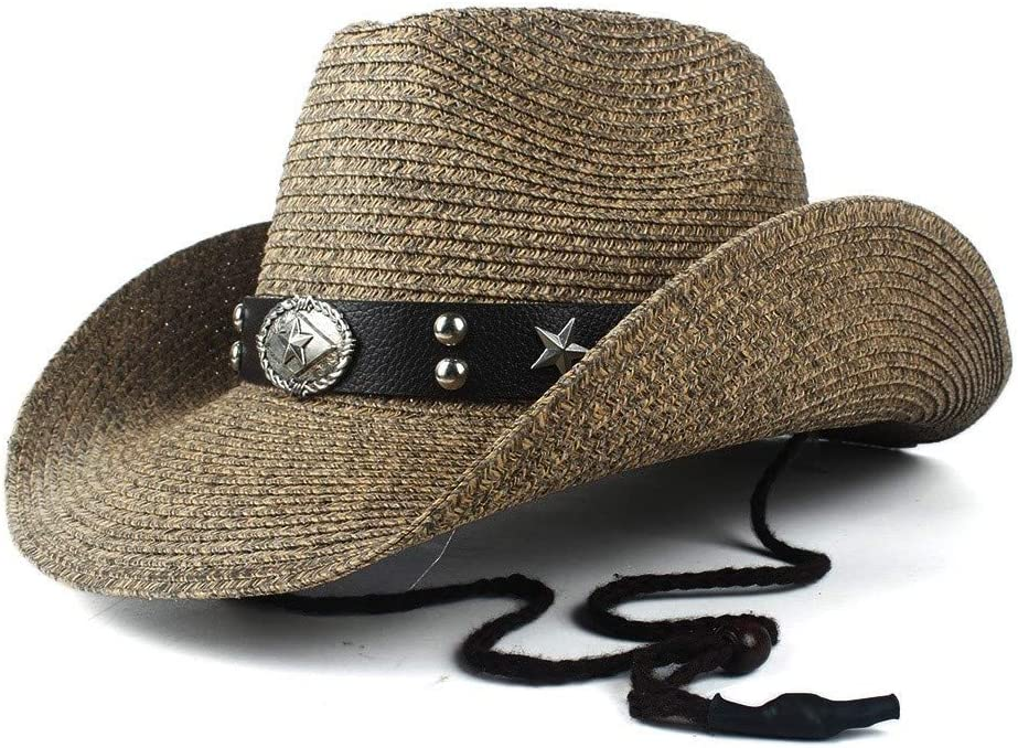 LHZUS Hats New Special sale item Men's Western Jazz and Hat Straw Gentleman Cowboy wholesale