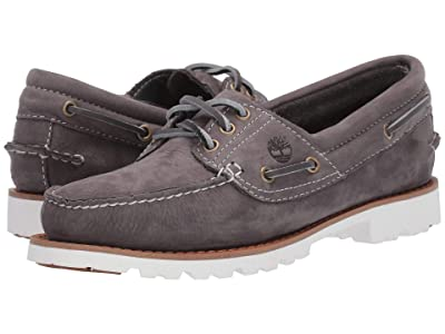 Timberland Noreen Lite Handsewn Boat Shoe (Medium Grey Nubuck) Women
