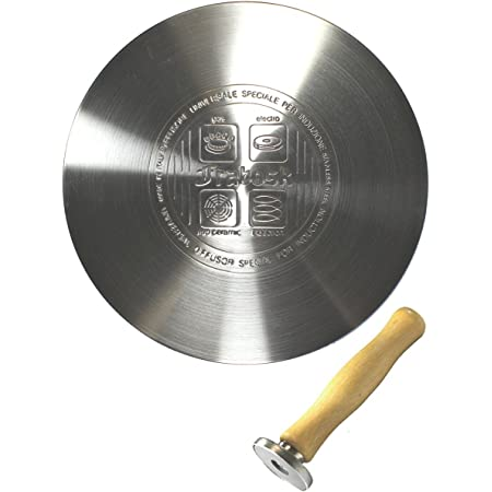 IHヒーティングプレート 22cm フラボスク マグネットノブ付き