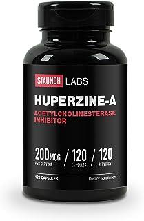 Staunch Huperzine-A 120 Capsules, 200 MCG - Non-GMO