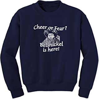 FerociTees Belsnickel Cheer or Fear Crewneck Sweatshirt