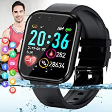 Amokeoo Smart Watch,Android Smartwatch Touch Screen Bluetooth Smart Watch for Android iOS Phones Wrist Phone Watch with SIM Card Slot & Camera,Waterproof Fitness Tracker Sports Watch
