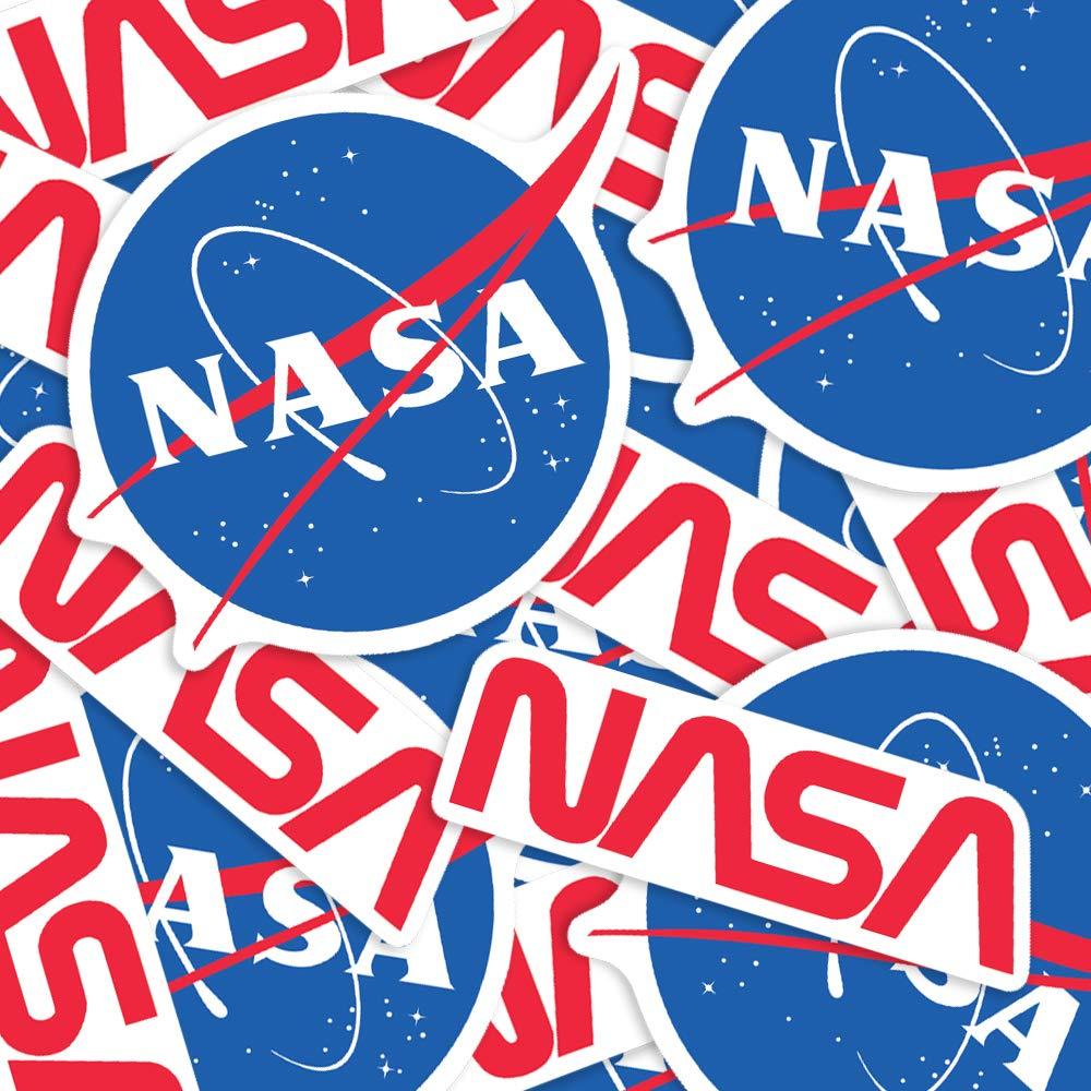 "NEW OFFICIAL US N.A.S.A SPACE MEATBALL VINYL STICKER 4 1//2/"" X 3 3//4/"" NASA USA"