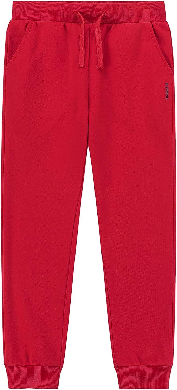 ALAVIKING Kids Soft Brushed Jogger Sweatpants Clearance SALE Limited time Limited price Fleece Drawstring