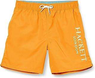 Hackett London Logo Volley B Bañador, Naranja (135orange 135), 104 (Talla del Fabricante: K05) para Niños