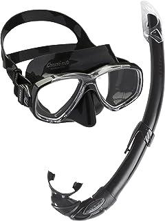Cressi Combo Set Perla Conjunto Combinado de máscara de
