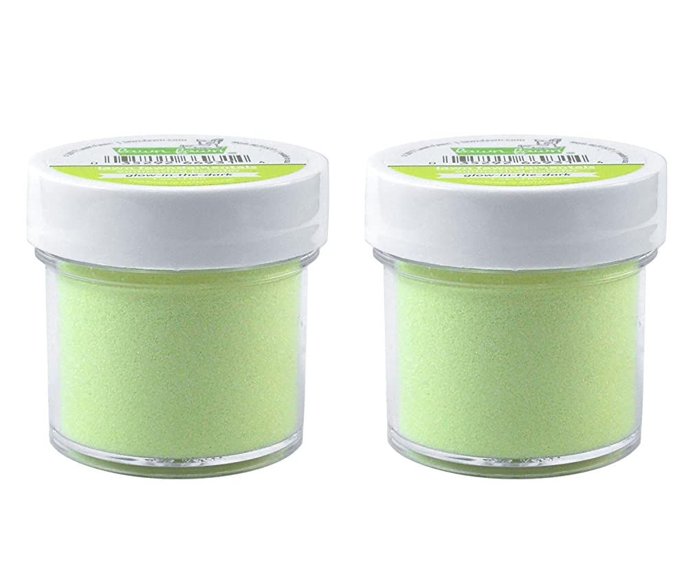 Lawn Fawn Embossing Powder LF1577 Glow-in-The-Dark, 2-Pack