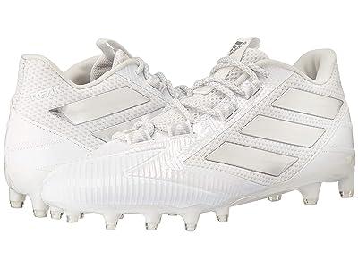 adidas Freak Carbon Low (White/Silver/White) Men
