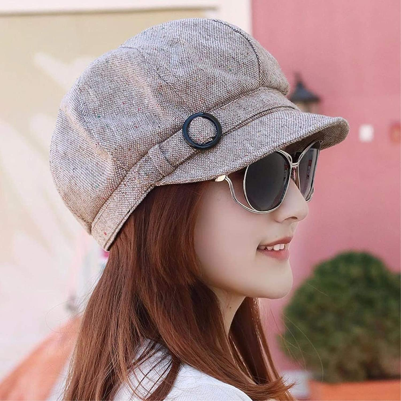 Dingkun Hat the girl octagonal cap, video thin name Yuan peaked cap Fashion Cap beret painter cap Visor