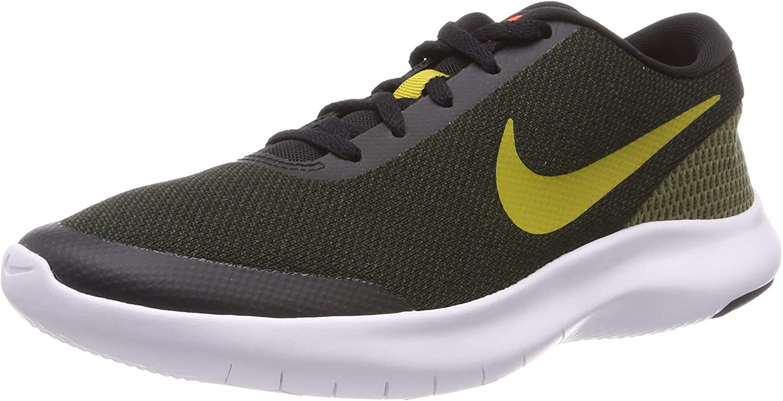 Nike Men's Flex Experience RN 7, Black PEAT Moss-Medium Olive