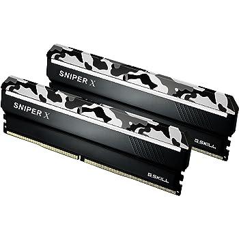 G.Skill 16GB DDR4 3400MHz Sniper X PC4-27200 CL16 Dual Channel Kit (2X 8GB) Urban Camo