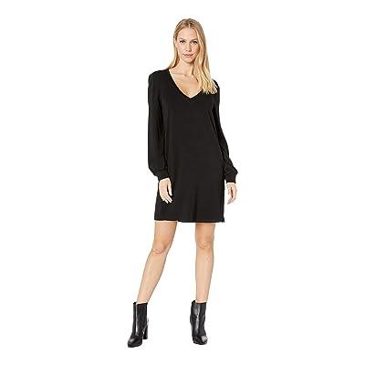 BB Dakota Cute Dot Com Dress (Black) Women