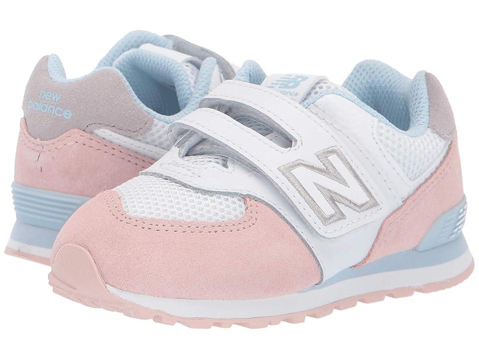 New Balance Kids 574 Summer Sport (Infant/Toddler) (Oyster Pink/Air) Girls Shoes