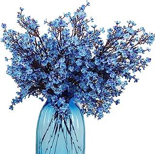 Amazon Com Artificial Flowers Blue Artificial Flowers Artificial Plants Flowers Home Kitchen