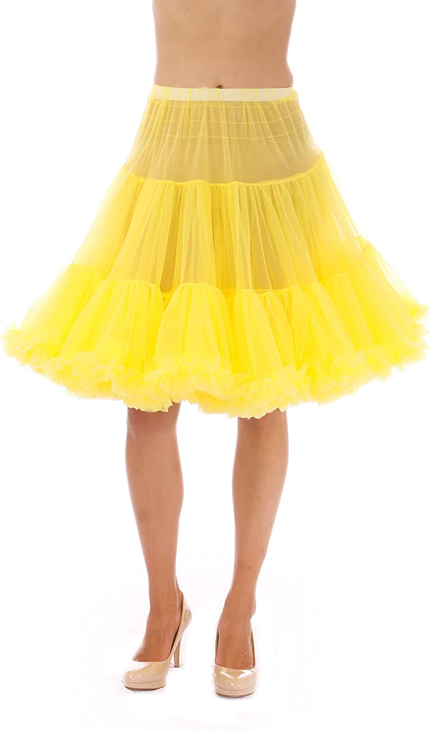 Malco Modes Luxury Vintage KneeLength Petticoat for Rockabilly 50s Lolita Dress