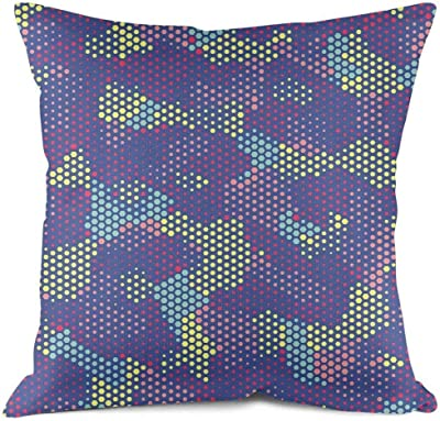 Amazon.com: Luckyly funda de almohada personalizada, noche ...