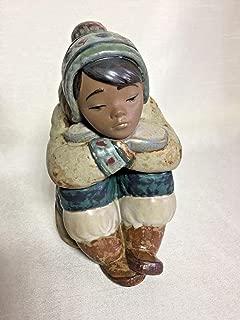 Lladro 01012159 Pensive Eskimo Boy Retired Figurine