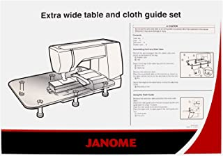 Janome Extra Wide Table with Cloth Guide Fits MC8900, 8200, 7700 & More!
