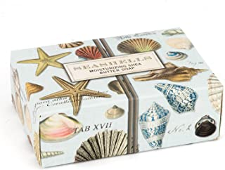 Michel Design Works 4.5oz Boxed Single Shea Butter Soap, Seashells