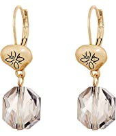 The Sak - Beaded Double Drop Earrings