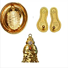 Style Ok Combo of Shree Hanuman Chalisa Yantra,Shree Laxmi Paduka &Tortoise for Good Luck