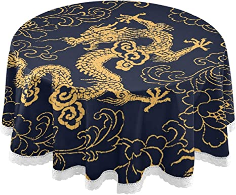 golden dragon decoration for party