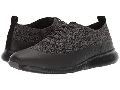 Cole Haan 2.Zerogrand Stitchlite Oxford Water Resistant (Black/Stormcloud Knit) Women
