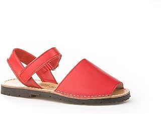 comprar comparacion Sandalias Menorquinas Infantiles Rojo Unisex, Mod.202. Calzado Infantil Made in Spain, Garantia de Calidad.