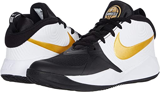 Black/Metallic Gold White