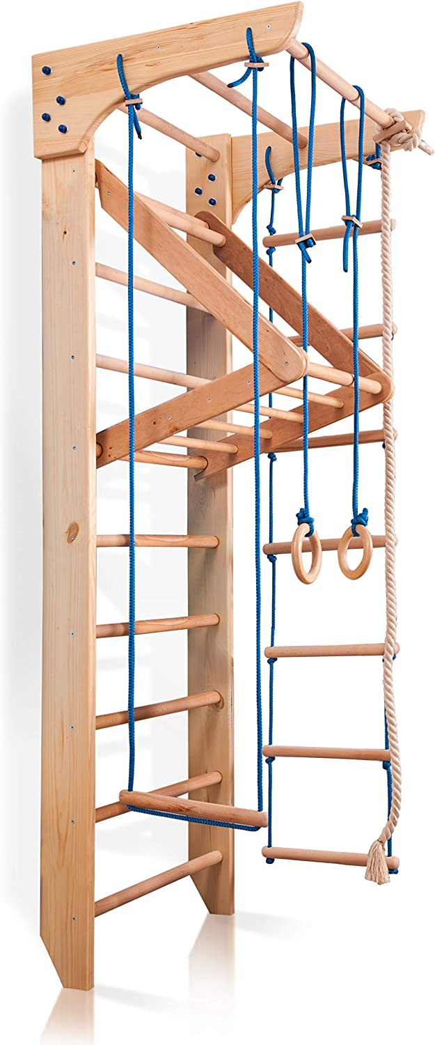 price Wall Inexpensive Bars for Kids Wood Stall Swedish Wooden Ladder Bar Kinde