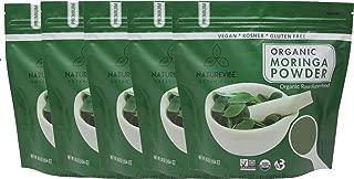 Organic Moringa Green Leaf Powder, 5 Pound, Organic Raw-Gluten-Free & Non-GMO by Naturevibe Botanicals (80 Ounces (Pack of 5))