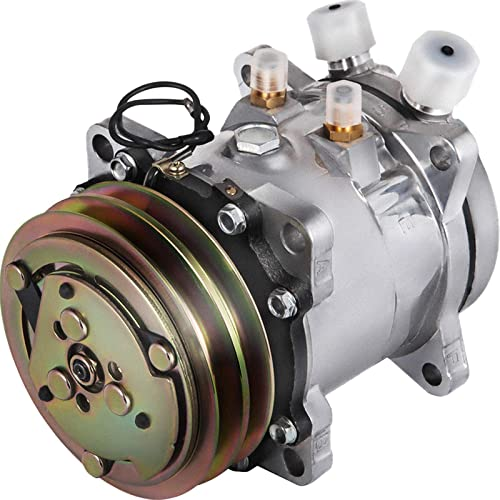 discount Mophorn CO5104C SD5H09 Universal AirConditioner AC Compressor for Sanden 5072 5071 5046 SD505 7104474Z 75R-82102 1984 1985 ACCORD SEi LX sale S Base 1.8L online sale 4CYL sale