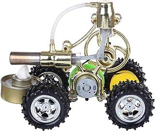 Ditzz Stirling Motor Kit de construcción Automático Stirling Motor Generador Modelo con Luz LED Juguete de aprendizaje para experimentos de física
