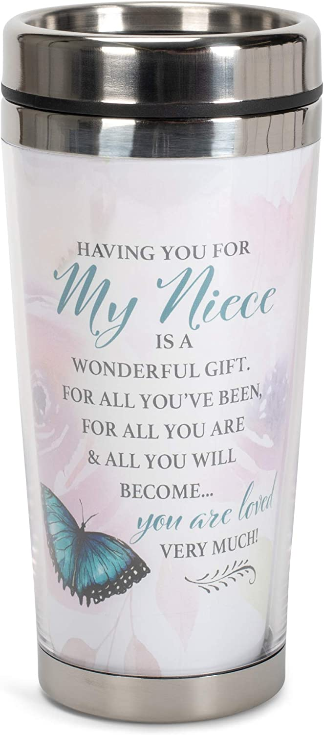Niece You are Loved 16 Oz Mug wholesale Lid with Stainless Columbus Mall Steel Travel
