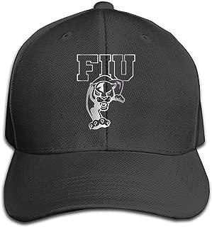 FIU Panthers Platinum Logo Unisex Baseball Cap Black