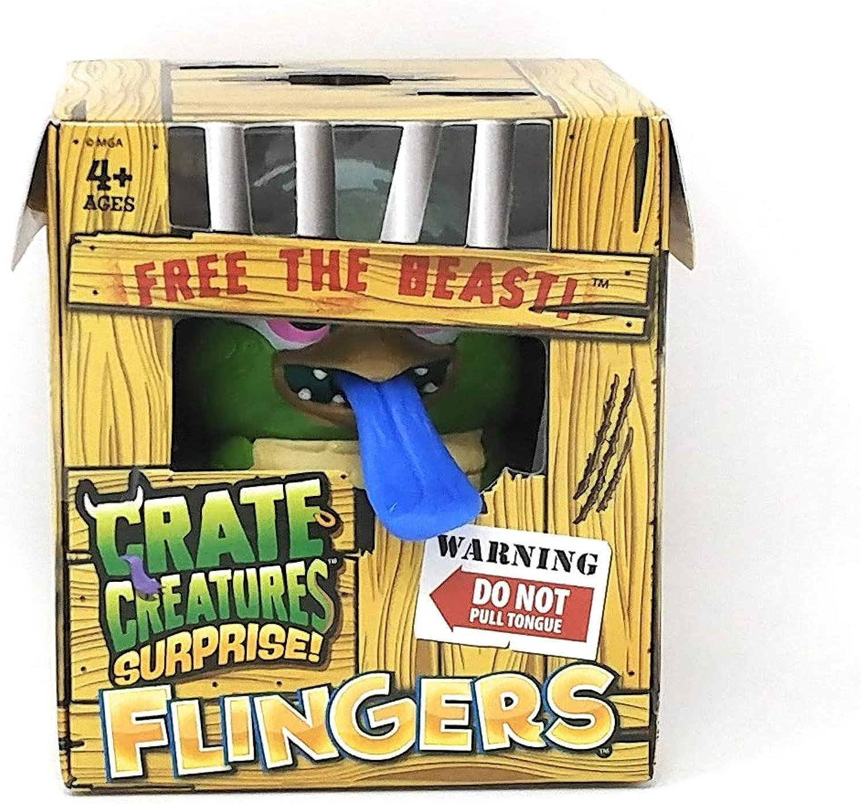 Crate Creatures Surprise, Flingers  BALDIE Figure (Box Size APPR 4 inc H)