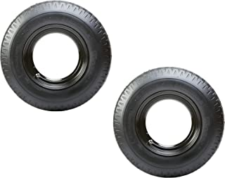 2-Pack Mounted Trailer Tire Rim Homaster 8-14.5 Load G 14.5 in. Demountable Rim