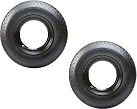 2-Pk Mounted Trailer Tire Rim Homaster 8-14.5 LRG 14.5 in. Demountable Rim Wheel