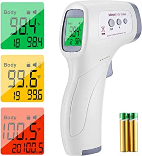 Forehead Thermometer for Adults and Baby, Touchless...