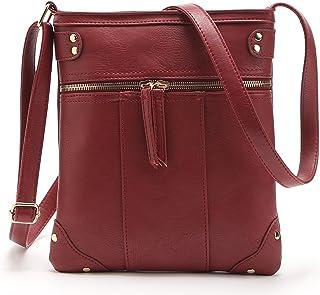Sannea Women's Soft Leather Small Crossbody Purse Shoulder Bag