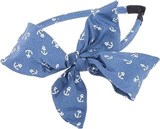 Sailor EVAN Big Bow ANKER SCHLEIFEN Retro Haarreif Rockabilly
