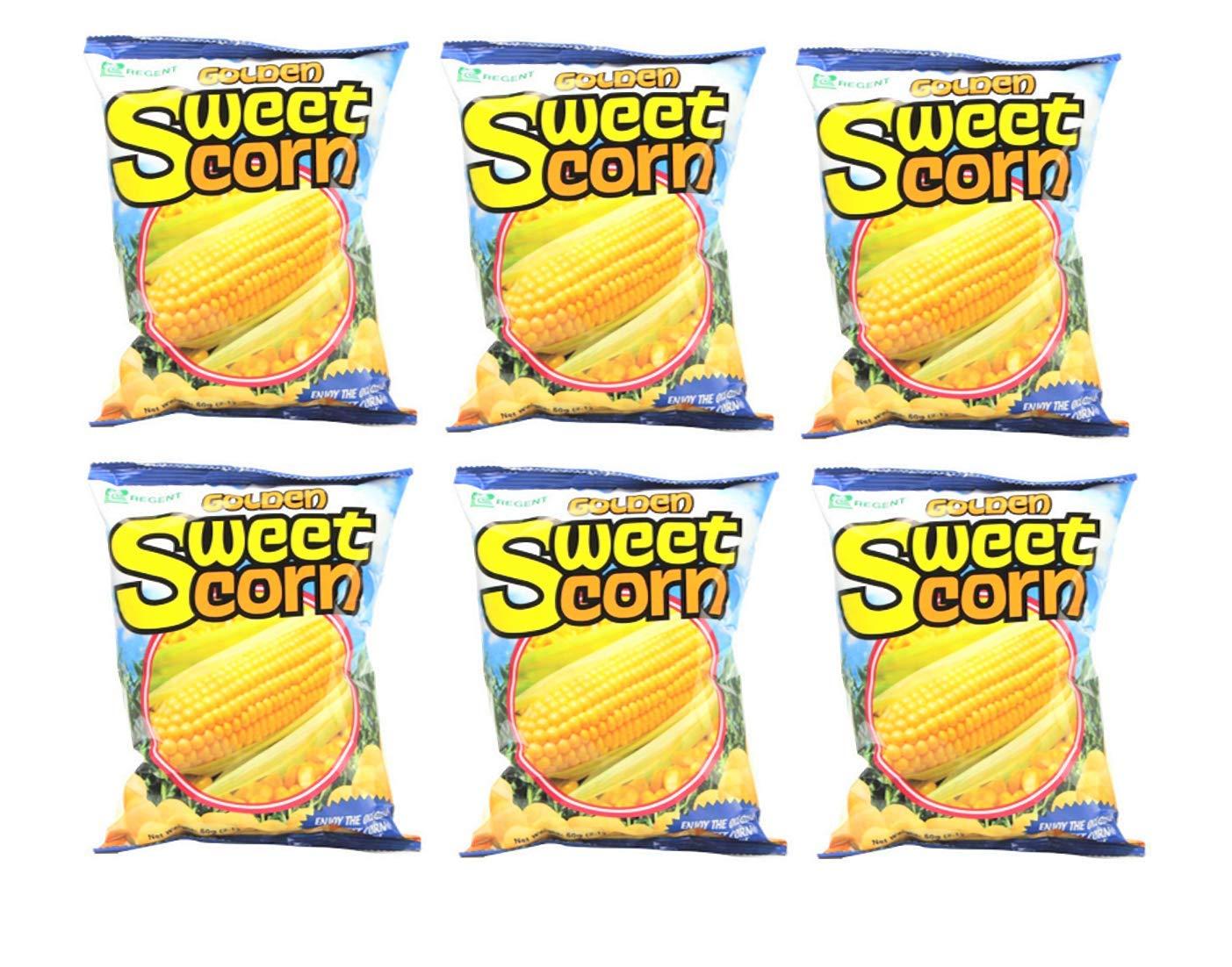 Regent Golden Sweet Corn 60g Pack 6 Free shipping on posting reviews SALENEW very popular