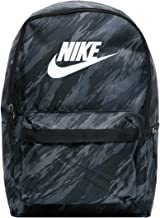Nike DA7752 NK HERITAGE BKPK- FA21 AOP Sports backpack unisex-adult black/black/white 1SIZE