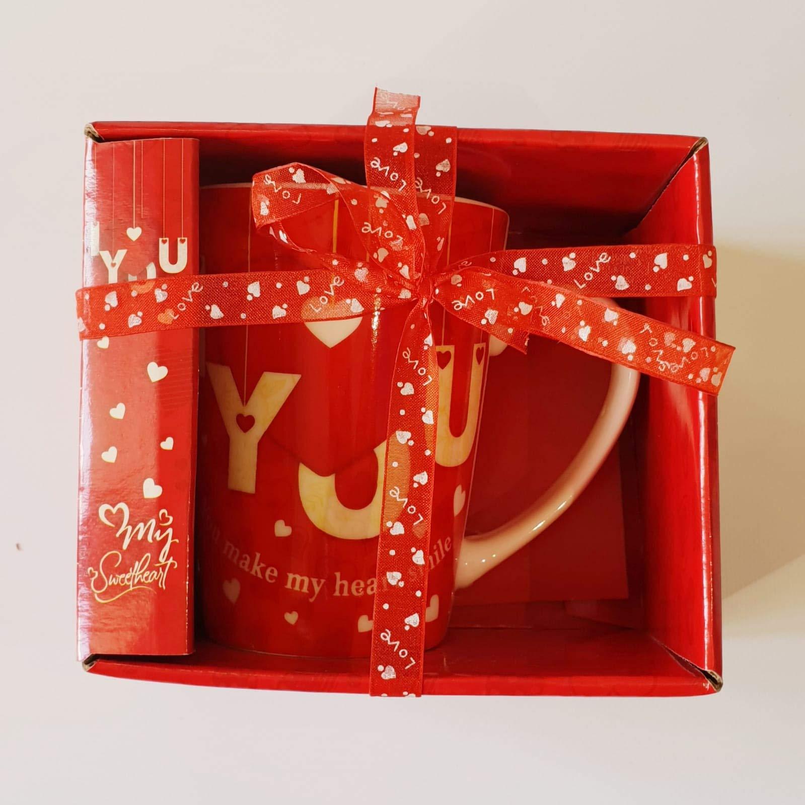 Taza – Taza – San Valentín – Regalo para Enamorados con Caja de Regalo – Regalo para San Valentín: Amazon.es: Hogar