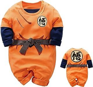 IURNXB Vêtements de Bébé Nouveau-né Jumpsuits Bébé Belle Bande Dessinée à Manches Longues Barboteuse